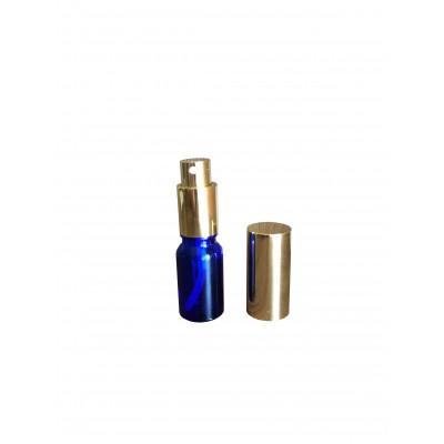 Флакон с золотым пульверизатором 10 мл (материал стекло)